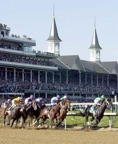 May 17, 1875, the first Kentucky Derby is run at Churchill Downs in Louisville. The winner was Aristides.
