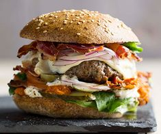 Super Beef Burgers