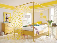 Here are the Yellow Bedroom Decoration And Design Ideas. This post about Yellow Bedroom Decoration And Design Ideas was posted under the Bedroom category by our team at September 2019 at am. Hope you enjoy it and don't . Yellow Bedroom Furniture, Yellow Painted Furniture, Yellow Room Decor, White Bedroom, Yellow Bedrooms, Teenage Girl Bedroom Designs, Teenage Girl Bedrooms, Girls Bedroom, Bedroom Chest