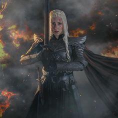 Fantasy Female Warrior, Fantasy Armor, Female Art, Top Cosplay, Cosplay Armor, Daenerys Targaryen Art, Game Of Thrones Books, Game Of Trones, Armadura Medieval