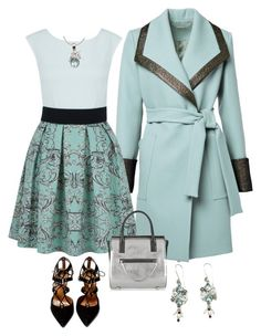"""Blue Topaz"" by alara-cary ❤ liked on Polyvore featuring Closet, Alexander Wang, Aquazzura and NOVICA"