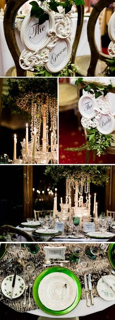 The Cotswold Vintage party hire style predictions 2014. i love the long candles....so romantic