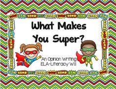 This freebie is a sneak peek at Superhero Writing Unit! The Superhero Writing Unit has 5 graphic organizers and 5 prompts! Kindergarten Language Arts, Kindergarten Writing, Teaching Writing, Teaching Ideas, Superhero Kindergarten, Teaching Tools, Teaching Resources, Superhero Writing, Superhero Classroom Theme