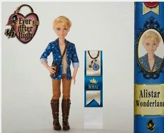 Ever After High: 2015 new character dolls: Royal Alistair Wonderland™ (Son of Alice)!
