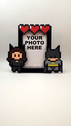 Catwoman and Batman Picture Frame - Couples Picture Frame - Nerdy Couples…