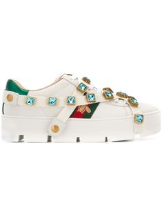 Dolce Gabbana Sneakers, Gucci Sneakers, Best Sneakers, Sneakers Fashion, Shoe Sites, Shoe Manufacturers, Fashion Sites, Adidas Men, White Leather