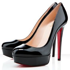 Christian Louboutin Italy Official Online Boutique - BIANCA PATENT CALF 140  Black Patent Calfskin available online. Discover more Women Shoes by  Christian ...
