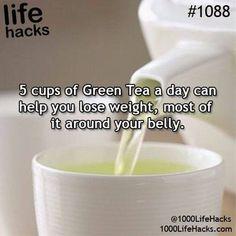 Green tea perks