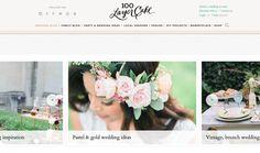 100 LAYER CAKE キュレーション力が高く、センスの良いウエディングブログ。 Brunch Wedding, Gold Wedding, Vintage Shops, Wedding Inspiration, Diy Projects, Pastel, Table Decorations, Blog, Cake