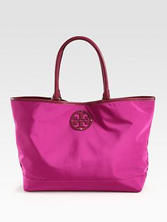Tory Burch - Nylon Stacked Tote - Saks.com