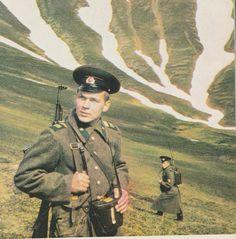 Soviet borderguards