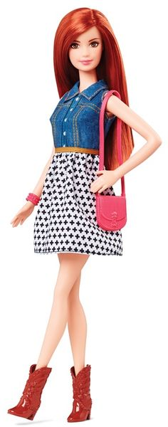 thedollcafe:Upcoming 2015 Fashionista Barbie