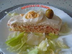 Receta de Pastel salado de verano de chispi57