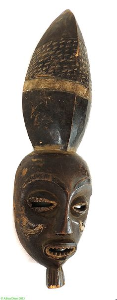Pende Kwango Mask Superstructure Congo Africa - Pende - African Masks