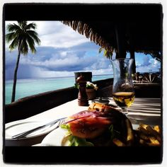 Honeymoon at Pacific Resort, Aitutaki, Cook Islands...favorite memory