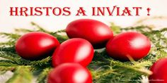 Hristos a inviat! Happy Easter, Vegetables, Health, Paste, Food, Motto, Colouring, Google, Colour Red