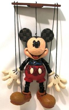 Mickey Mouse marionette (Jim Shore)