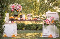 Altar Décor  #ElChorro in Paradise Valley, AZ with #AmyandJordanPhotography and #ImoniEvents www.flowerstudioaz.com