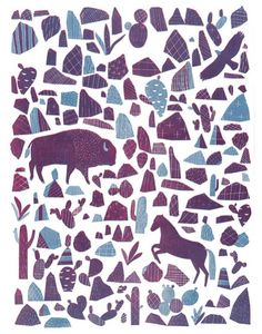 Discoveries…like a look and find?  JOANNA RUTTER (via Where the Lovely Things Are)