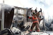 OHIO - About 15 horses died in a barn fire in Tallmadge on Thursday.