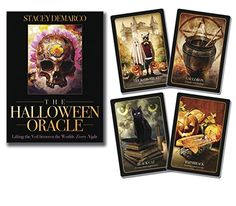 The Halloween Oracle Tarot Deck - 36 Cards And Guidebook By Stacey DeMarco James T Kirk, Halloween Traditions, Halloween Themes, Samhain, Festival Of The Dead, Celtic Festival, Oracle Tarot, Oracle Deck, Candy Skulls