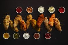 Chicken Tenders - a ton of different ways to make chicken tenders. Recipes for dipping sauces are included.