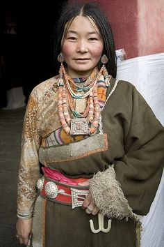 a woman from Lhasa