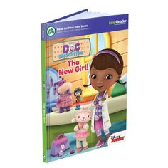 LeapFrog LeapReader: Disney Doc McStuffins: The New Girl Read On Your Own Book works with Tag LeapFrog Enterprises http://smile.amazon.com/dp/B00DW1TUY6/ref=cm_sw_r_pi_dp_PVjSub0RHJQ4X