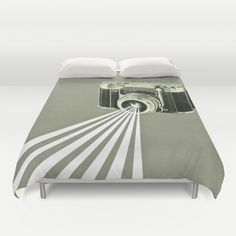Depth of Field Duvet Cover by Cassia Beck - $99.00