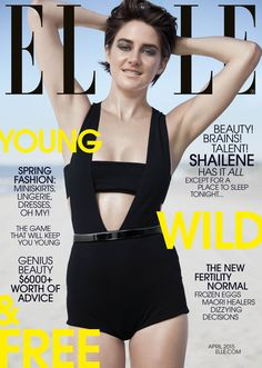 Shailene Woodley gets off on loving deep, inciting a revolution, and surviving in the wilds of Hollywood in the April issue of ELLE. Read her more from her interview.