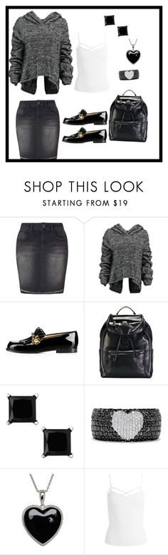 """""""Cute & Comfy"""" by elshaymac ❤ liked on Polyvore featuring Miss Selfridge, Taylor, Christian Louboutin, MCM, Effy Jewelry, Lord & Taylor and Sans Souci"""