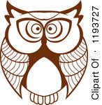 Royalty-Free (RF) Owl Clipart, Illustrations, Vector Graphics #1