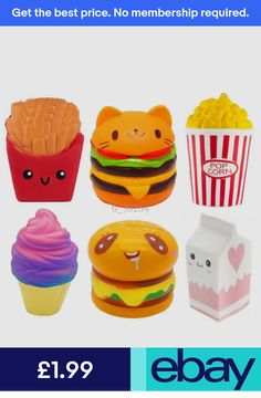 Straps & Charms Us Jumbo Slow Rising Squishies Scented Squishy Squeeze Toy Stress Reliever Gift Panda Bread, Animal Squishies, Jumbo Squishies, Rhode Island Novelty, Panda Cakes, Joke Gifts, Stress Relief Toys, Kid Party Favors, Party Bag Fillers