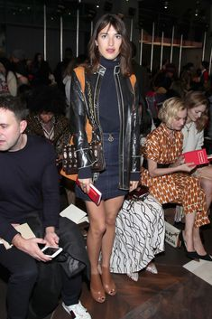 Jeanne Damas Photos Photos - Tory Burch - Front Row - February 2017 - New York Fashion Week - Zimbio