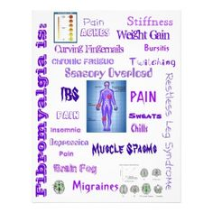 Fibromyalgia Awareness Flyers