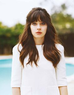 just got bangs like these- love them!