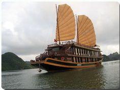 Halong Bay cruise with Indochina Sails