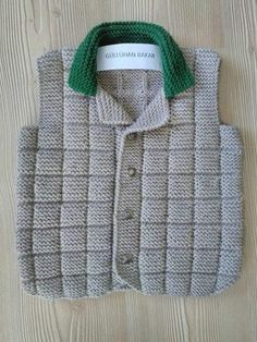 Baby Vest, Baby Pants, Baby Boy, Knitted Baby Cardigan, Baby Pullover, Baby Knitting Patterns, Knitting Stitches, Boys Sweaters, Easy Knitting