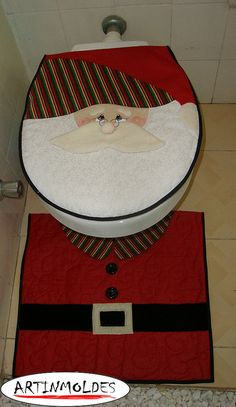 NATAL NO WC by Artinmoldes - Atelier Das Mana, via Flickr