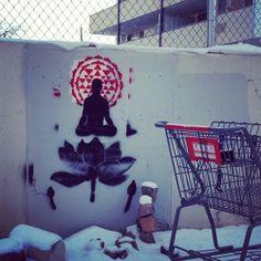 Spiritual Street Art Graffiti Quotes, Graffiti Words, Wall Art Quotes, Painted Doors, Urban Art, Illusions, Spirituality, Dementia, Art Art