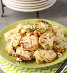 Parmesan Roast Cauliflower