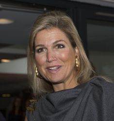 Queen Maxima Photos: Queen Maxima Of The Netherlands Attends Financial And Pension Seminair