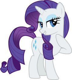 Rarity Vector by AlmostFictional on DeviantArt