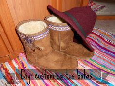 cafecondiy: Diy: customizando unas botas