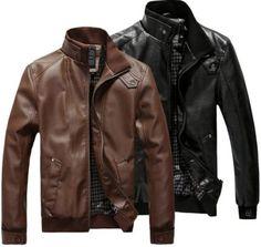 modelos de jaquetas de couro masculinas