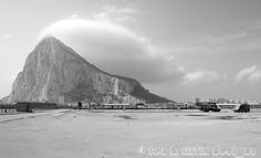 Rock of Gibraltar art photography Spain by TeaandTiffin on Etsy, £20.00