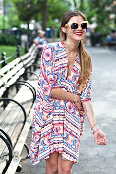summer prints, summer smile