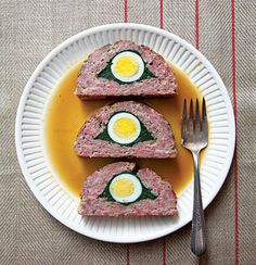 Egg-and-Spinach-Stuffed Meat Loaf Recipe   SAVEUR