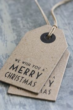 Lovely vintage look gift tags from jotslifestyle.nl