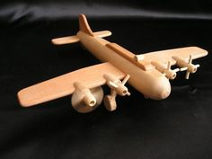 wooden-toy-plane-bomber